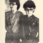 John (left) with producer Steve Levine, to promote the single 'It's You I Want', March 1981